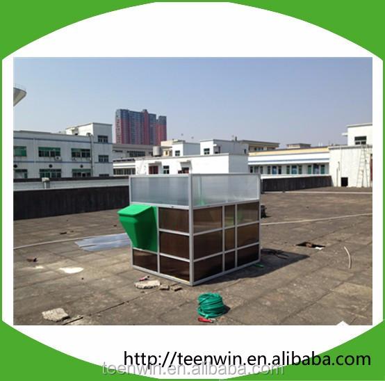 Сборный биогазовый реактор DIY с генератором биогаза