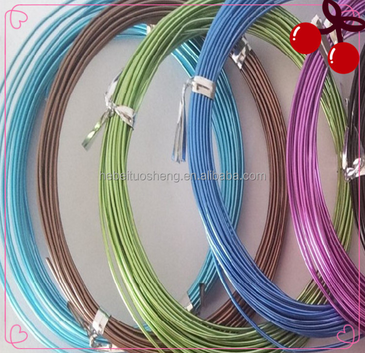 Anodized Aluminum Wire 0.08mm-2mm/anodized Aluminum Craft ...
