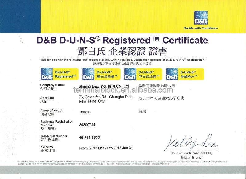 Dinレール取付けta-200600v200a電気モータ端子ストリップ仕入れ・メーカー・工場