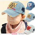 Baby Children Baseball Hat Cool Korean Children Tiger Head Letter Cowboy Cap Hip Hop Sports Fashion