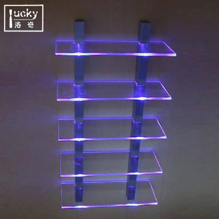 Edge Lit Acrylic Light Tape Shelves Buy Acrylic Light