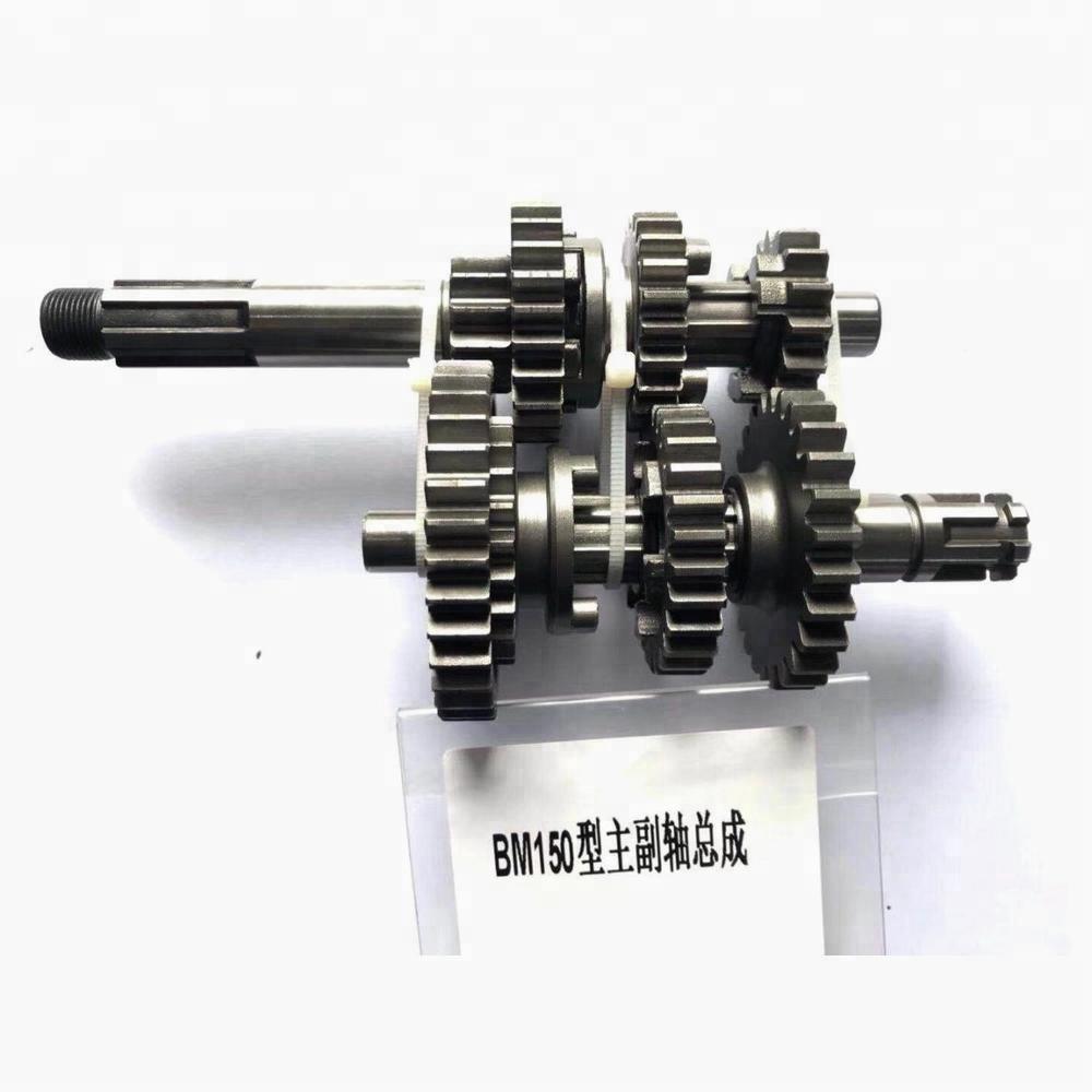 Motorcycle Mainshaft&countershaft Assembly Parts Transmission Gear Kit For  Bajaj Boxer Bm150 - Buy Motorcycle Gear Box,For Boxer Bm150 Parts,Bm150  Product on Alibaba.com   Gear Box Of Motorcycle      Alibaba