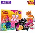 Baby Toys Scraping Painting DIY Drawing Kit Christmas Gift for Children Educational Paint Learning