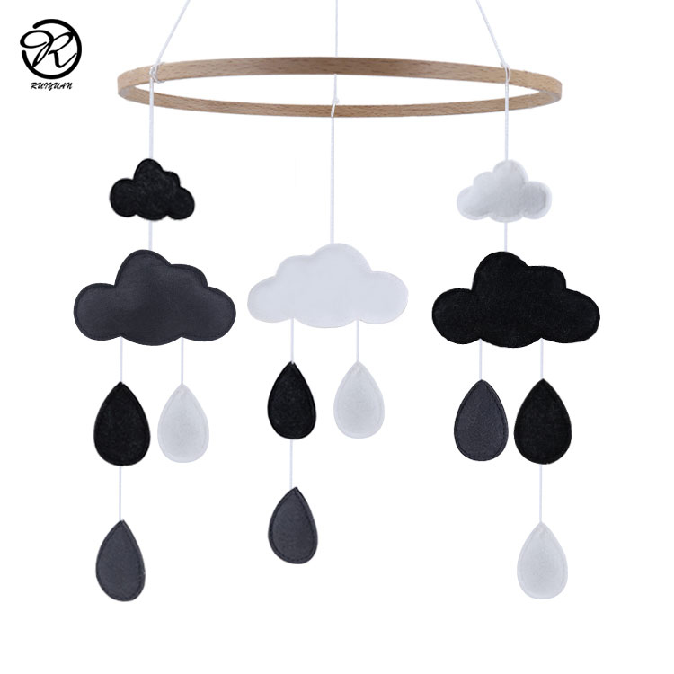 High Quality Hanging Baby Crib Mobile Nursery Ceiling Mobile Toys Bed Room Decoration