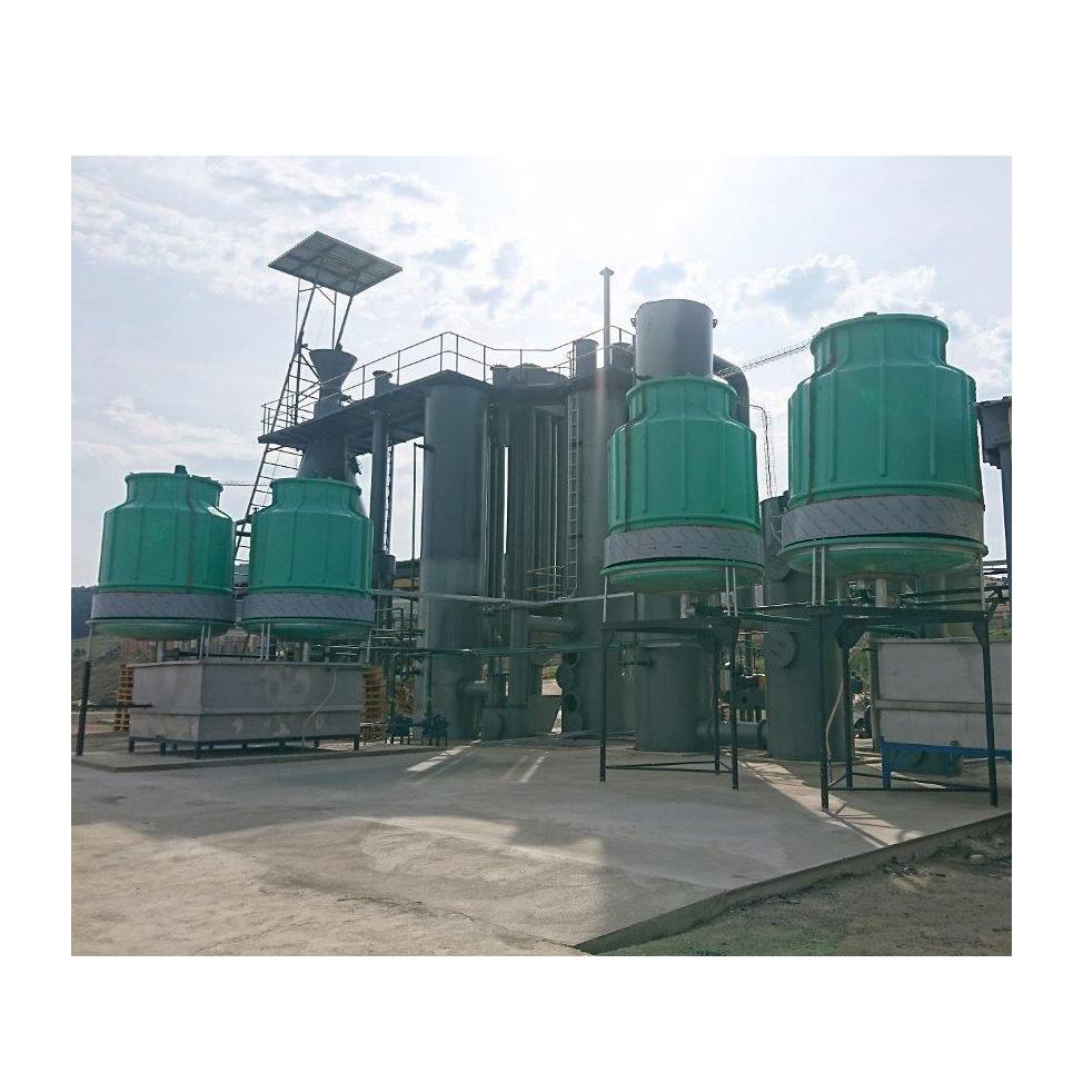 1.2MW biomass gasification power plant equipment