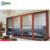 AS2208 Wooden Color Australia Usa Standard Slide Door With Mosquito Net Security Screen
