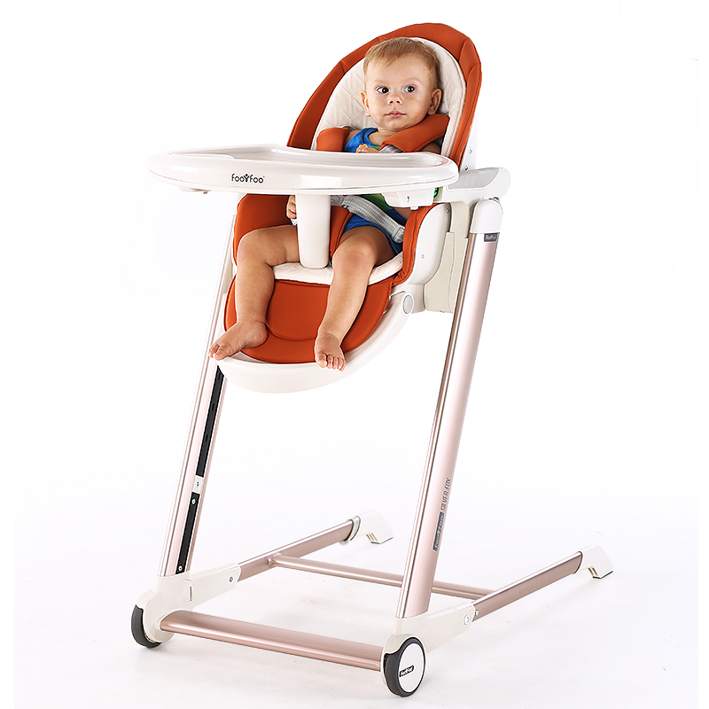 Pairbaby Baby Highchair Adjustable And Foldable Children