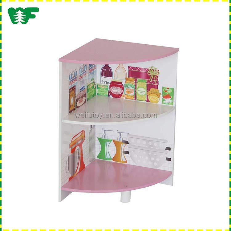 WEIFU wooden toy children kitchen furniture set for kids