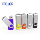 2G/8Gb/16Gb/32Gb/64G/128G swivel Usb memorias 1G Free Sample flash disk 2.0 twister Pen drive 4GB