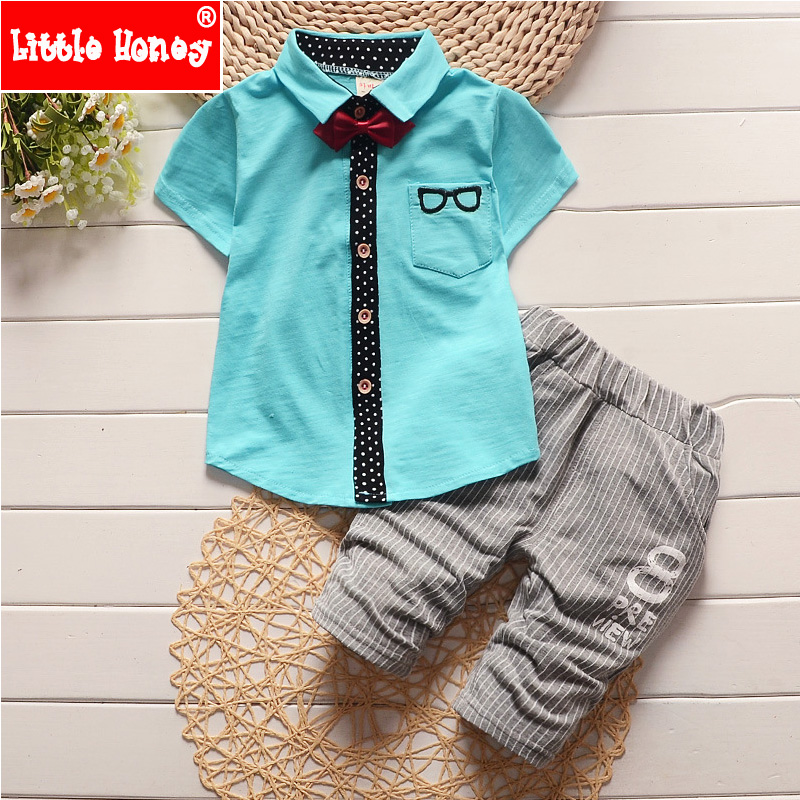 3c8d4b45c507 Korean Style Baby Boy Clothing Set 2016 New Summer Fashion Kids Toddler  Boys Clothes Boutique Baby Boy Formal Pants Suits T554 ...