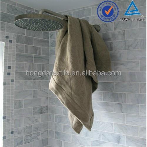 Толстые и абсорбирующие 100% льняные спа-полотенца