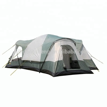 Outdoor Leisure Camping Big Space Family 8-10 Person Tent