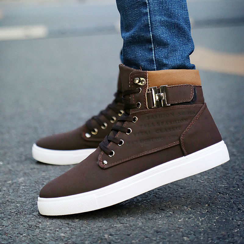 ZJNNK Factory Outlets Men Casual Shoes Leather Handmade ...