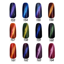 Free shipping 5D Magic Charm Gel Polish 6 pcs Floraes Gel Nail Polish15ml 12 colors for