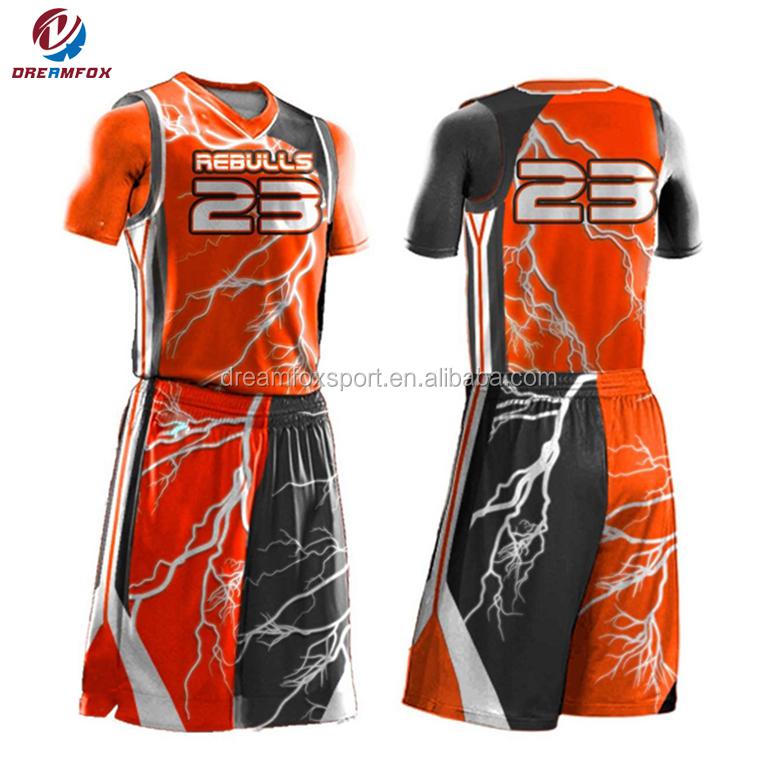 China Supplier Basketball Jersey Color Orange,Design Camo ...