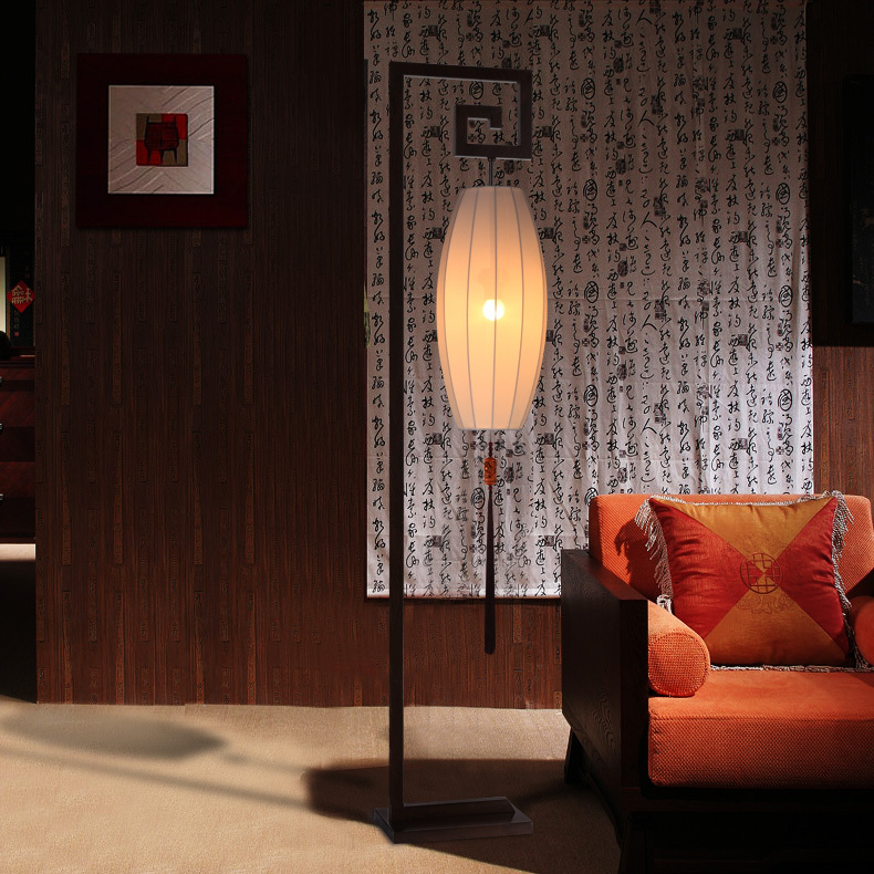 1 8 m new chinese modern floor lamp shade washable living room floor lamp table lamp hotel club. Black Bedroom Furniture Sets. Home Design Ideas