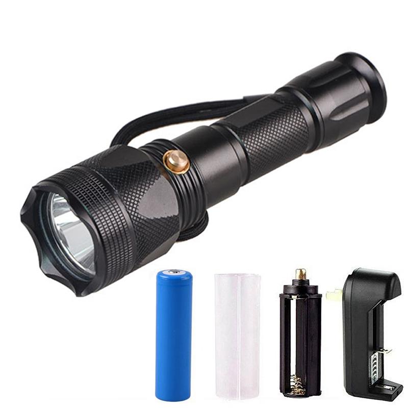 Waterproof 10W XML2 1200lm LED Underwater Diving Equipment Scuba Diving Flashlight Torch