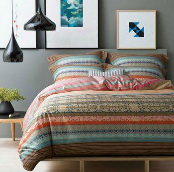 new 100 cotton ikea casa boho bedding set colorful turquoise comforter set duvet cover full. Black Bedroom Furniture Sets. Home Design Ideas