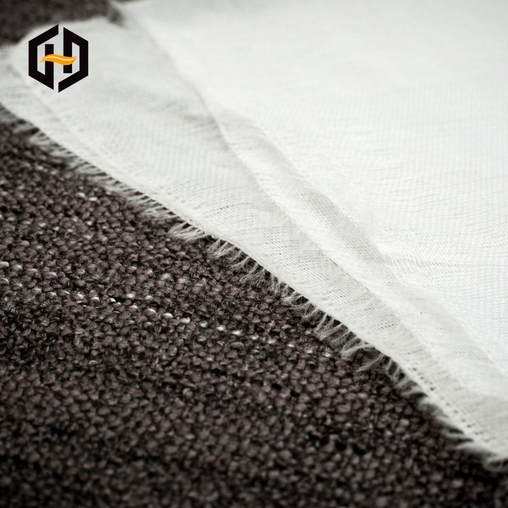 Без шва большой рулон посылка полиэстер хлопок тканая простая серая ткань для клейкая тканевая лента