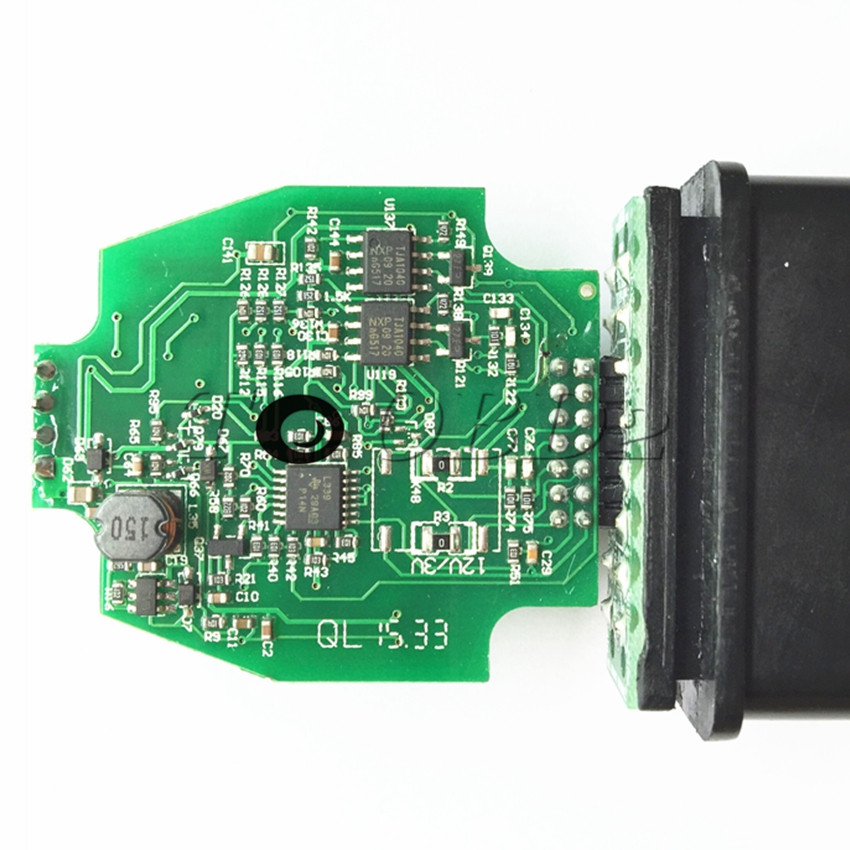 Newest OBD2 Code Reader ELS27 FORScan Works For Mazda/Lincoln/Mercury Green  PCB FTDI Chip+PIC24HJ128GP Better Than ELM327