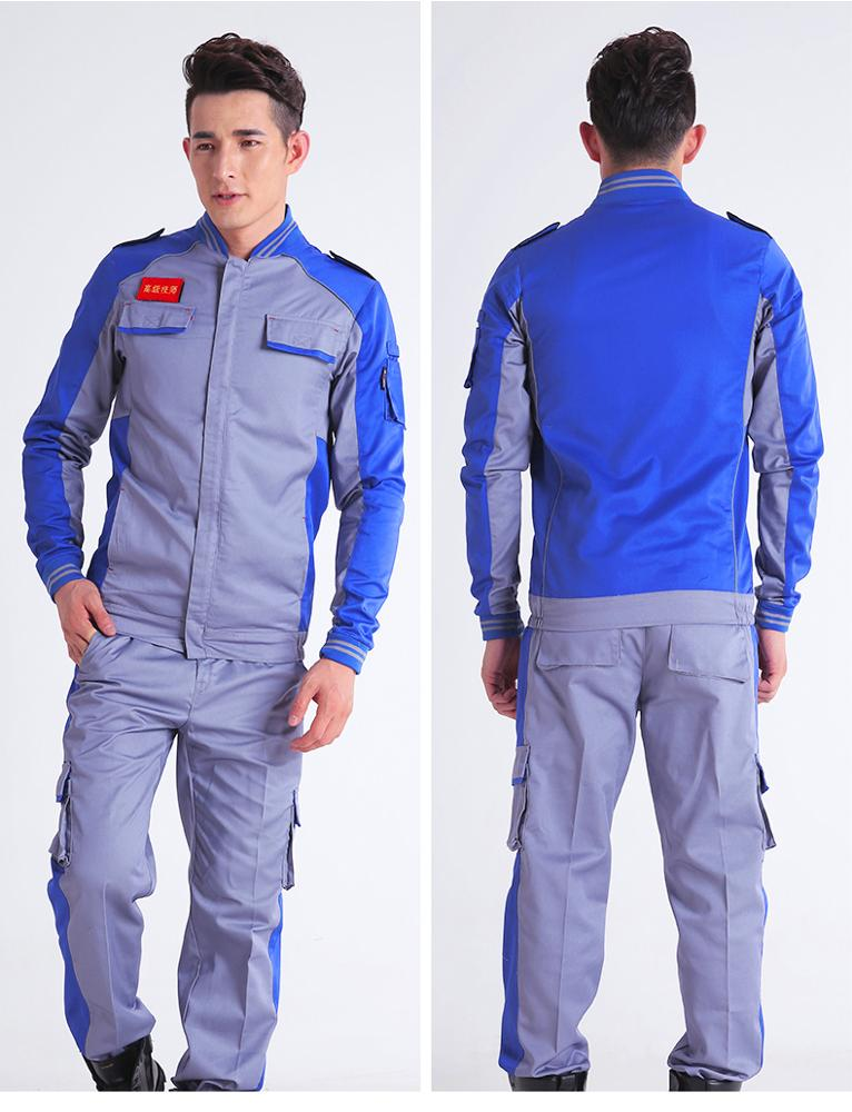 Cheap wholesale customized safety worker uniform overall factory work wear uniforms Engineering Working Uniform