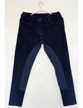 Royal wolf equestrian clothing manufacturers blue full seat breeches equestrian apparel