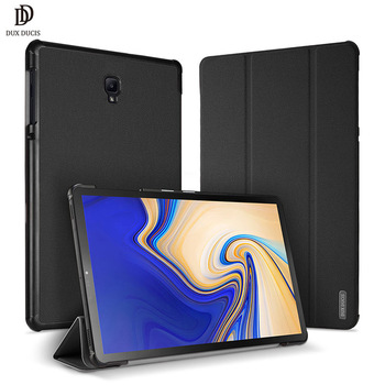 DUX DUCIS Smart Case For Samsung Galaxy Tab S4 10.5 T830 T830 T835 PU Leather Retina Cover For Samsung Tab S4 10.5