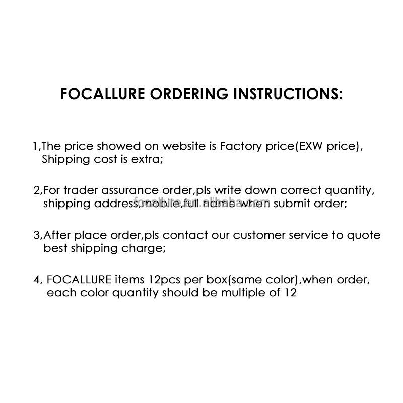 Focallure Best Selling Chinese Products Fashionable Gift For Waterproof Cosmetic Kit Makeup Wholesale Online