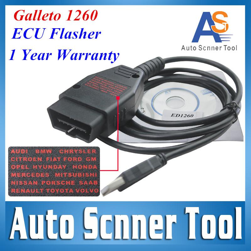 2015 высокое качество горячие продаж OBD2 / EOBD2 Galletto1260 экю флэш-flasher Galletto 1260 чип тюнинг Remaping инструмент CNP