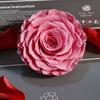 Нежно-розового цвета