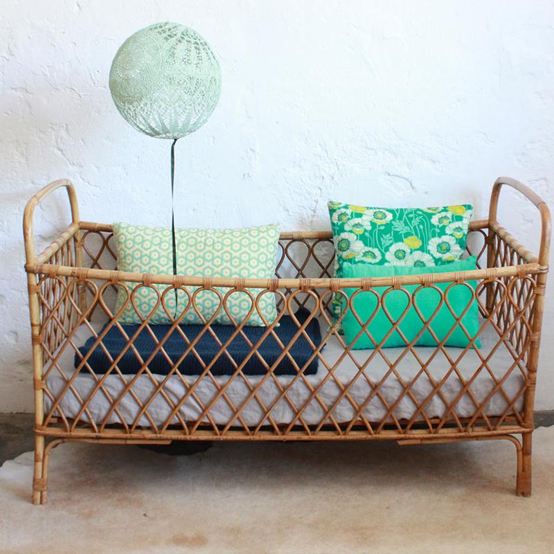 Customize Rattan Furniture Vintage Baby