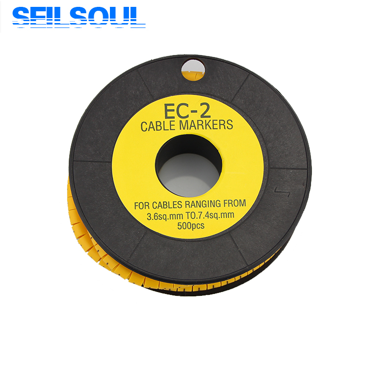 EC-2 высокое качество под заказ погодозащищенный пластиковый провод Кабель маркер рукав