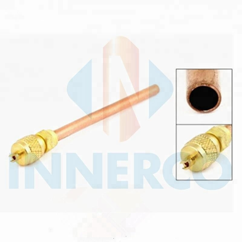 Refrigeration spare parts high quality 1/4 pin valve charging valve access valve