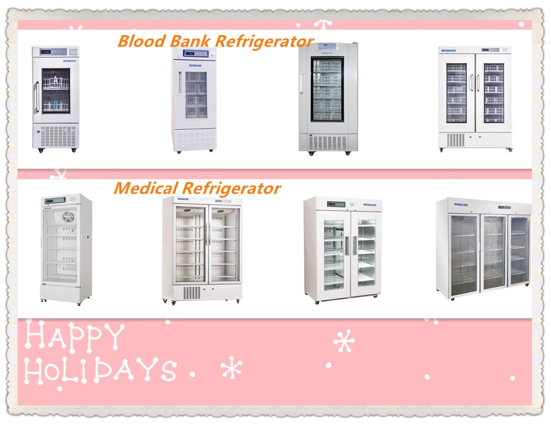 BIOBASE производитель холодильник для лаборатории, для детей от 2 до 8 лет, микропроцессор панель управления BPR-5V160