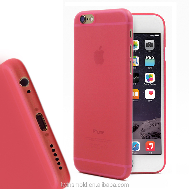 Matte Finish For Iphone 6s Phone Case,Ultra Thin 0.35mm Pp For Iphone 6 Phone Cover - Buy For Iphone 6s Phone Case,Thin For Iphone 6 Cover,Matte ...