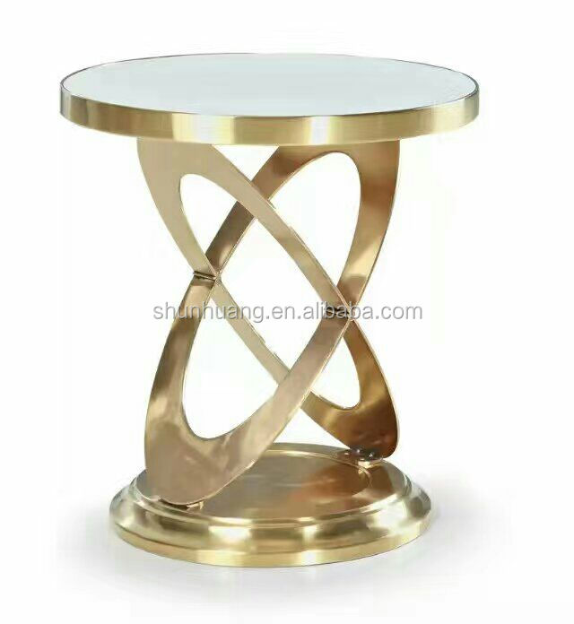 Fashion Small Round Glass Top Gold Color Side Table Living Room Furniture Coffee Table Buy Living Room Coffee Table Glass Side Table Gold Color Coffee Table Product On Alibaba Com