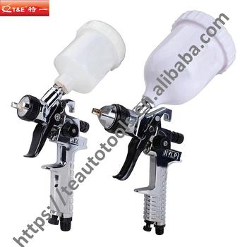 2-Piece HVLP Gravity Feed Air Spray Gun Kit