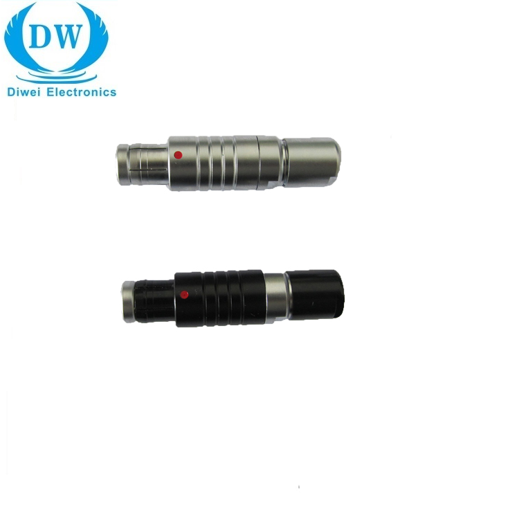 Циркулярный разъем LEMOS FGG.1B с 2 на 16 контактов, металлический штекер, разъемы Lemos для кабеля