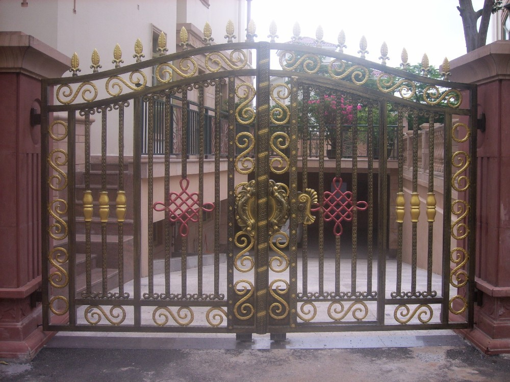Exterior Main Gate Designs Villa Entrance Door Buy Sample Of House Gates Main Gate Entrance Door Product On Alibaba Com