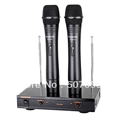 free shipping handheld wireless microphone system ktv home professional stage performance. Black Bedroom Furniture Sets. Home Design Ideas