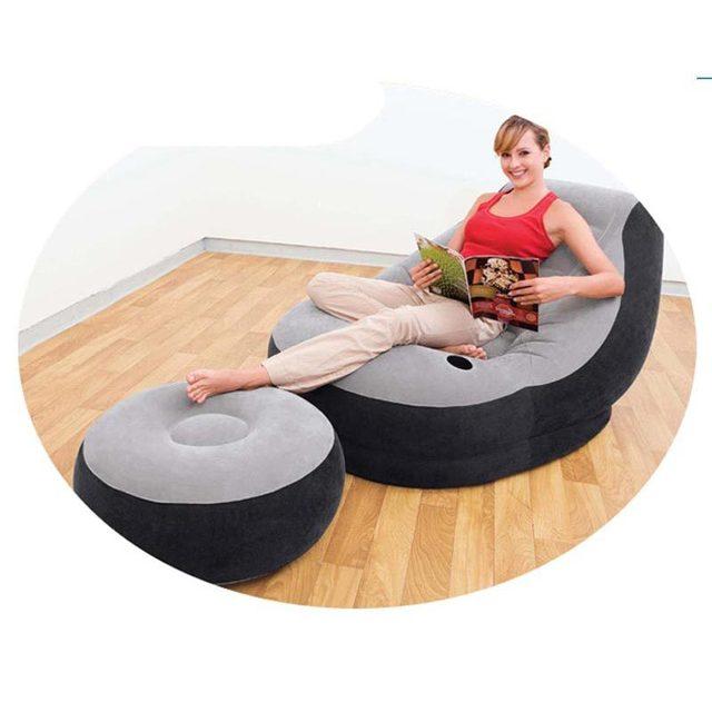 koop intex opblaasbare lounge stoel sofa opblaasbare sofa 130 99c 76 cm 64 28. Black Bedroom Furniture Sets. Home Design Ideas