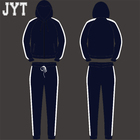 OEM Service Sweatshirt with Embroidery Logo, fitted latest design custom Mens plain tracksuit with Comfortable Material