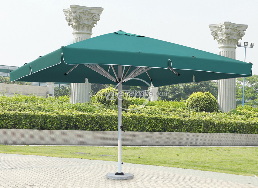 Outdoor Large Sun Umbrella Square 5*5m/garden Parasol