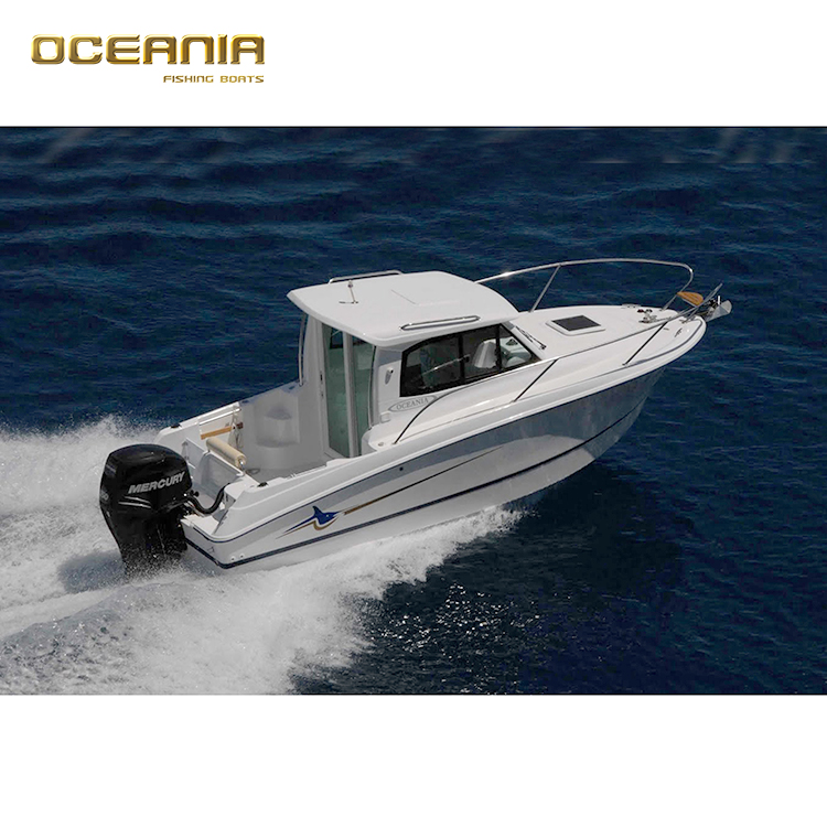 fiberglass yacht luxury cabin fishing boat for sale made in china
