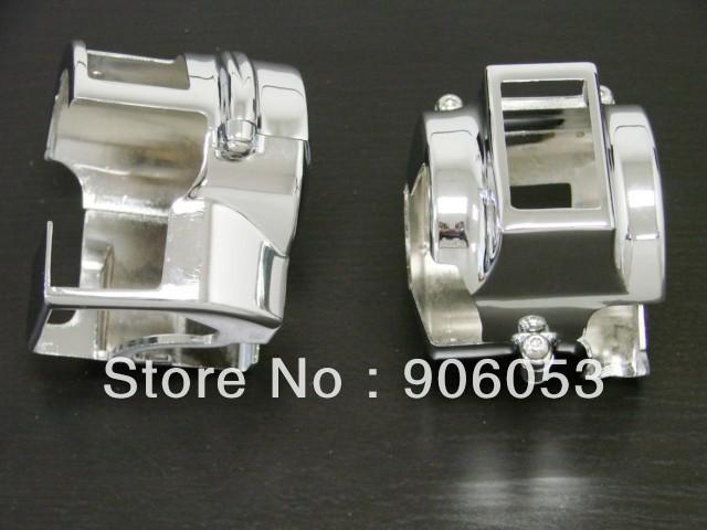 Для всех Honda VT600 VLXMODELS VT750 дух 2008 - хром переключатель корпуса крышки