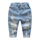 Jeans Pants Boy's Clothing Sets Baby Boy Clothes Good Quality Kids Wear Jeans Sets Ripped Pencil Pants