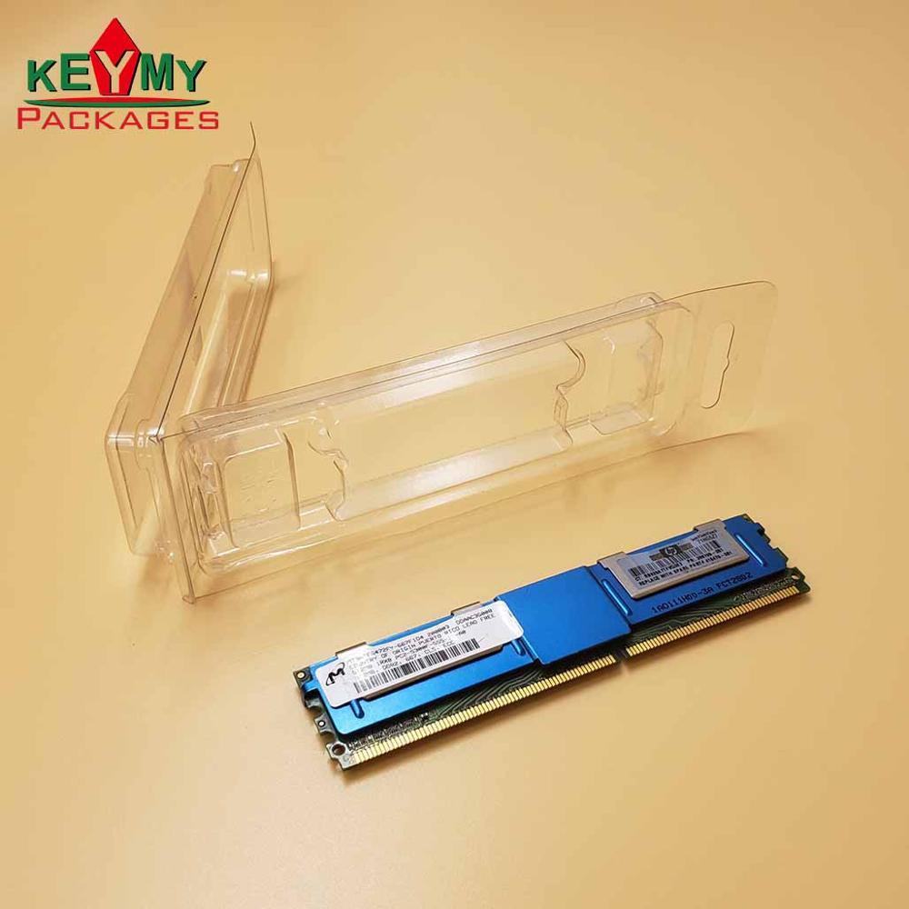 Изготовленный На Заказ Прозрачный раскладной блистер, Термоформовочная ПВХ двойная блистерная упаковка для электронных продуктов