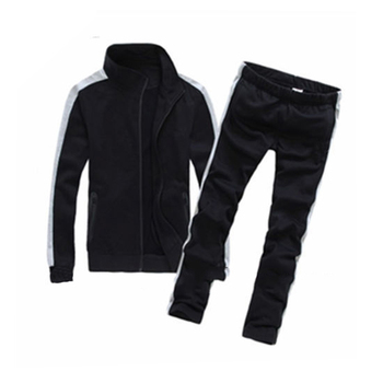 100% Polyester tracksuit sets jogging school uniform design
