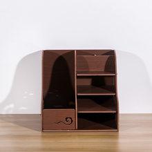 HECARE новый пластиковый канцелярский органайзер для дома и офиса, записная книжка, полка для файлов, чехол для ручки, коробка для хранения, вод...(Китай)
