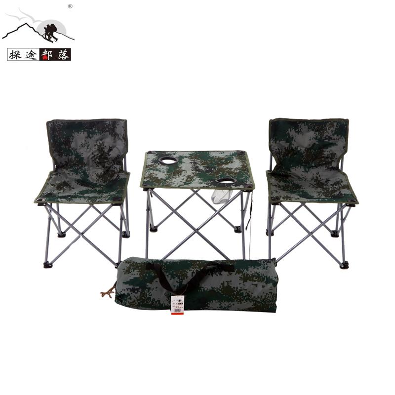 Новый дизайн от производителя, портативный складной стол с 5 стульями, набор для путешествий, пикника, кемпинга